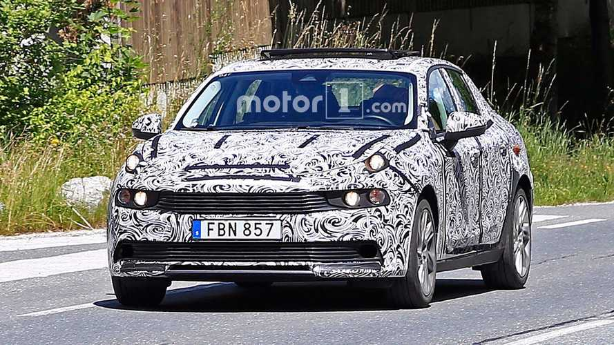 Lynk & Co.'s New Plug-In Hybrid 03 Sedan Spied