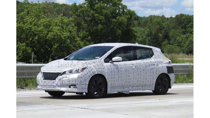 Nissan LEAF Only True Tesla Model 3 Competitor