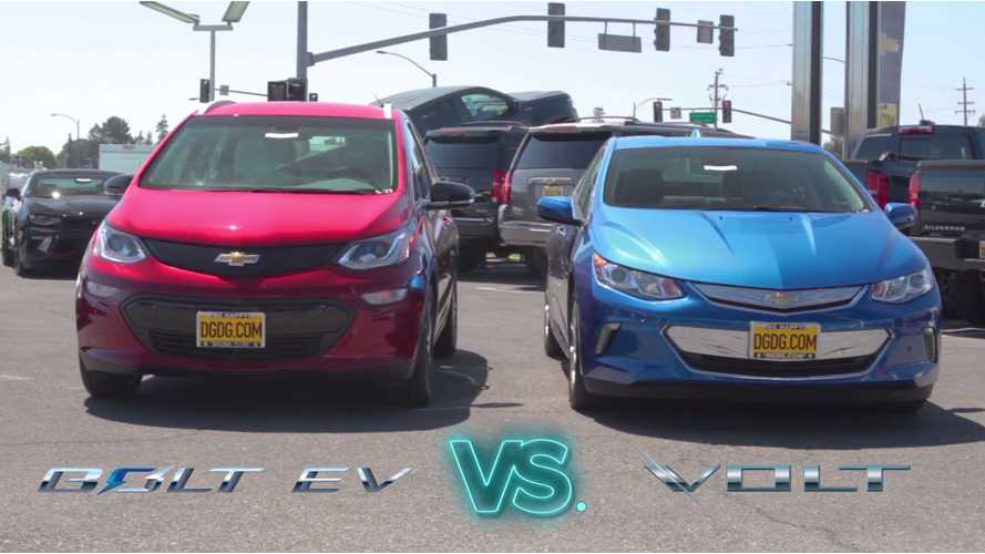 Dealership Posts Head-To-Head Comparison Of Chevrolet Bolt, Volt - Video