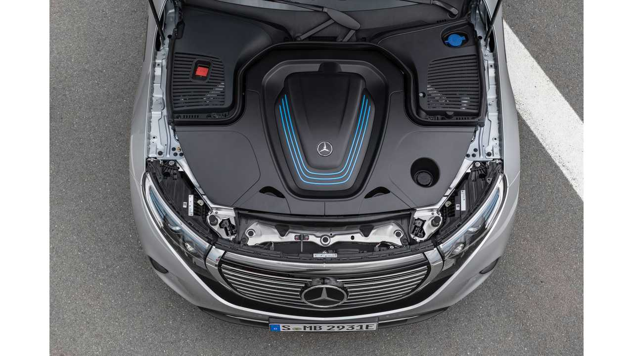 Why The Mercedes-Benz EQC Doesn't Have A Frunk Might Surprise You