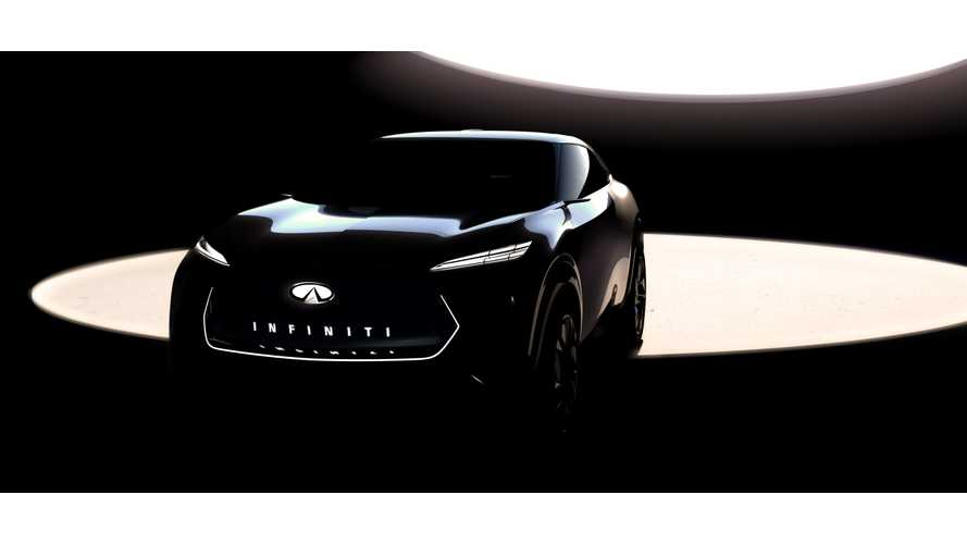 Infiniti Electric Crossover Concept Teased Ahead Of Detroit Debut