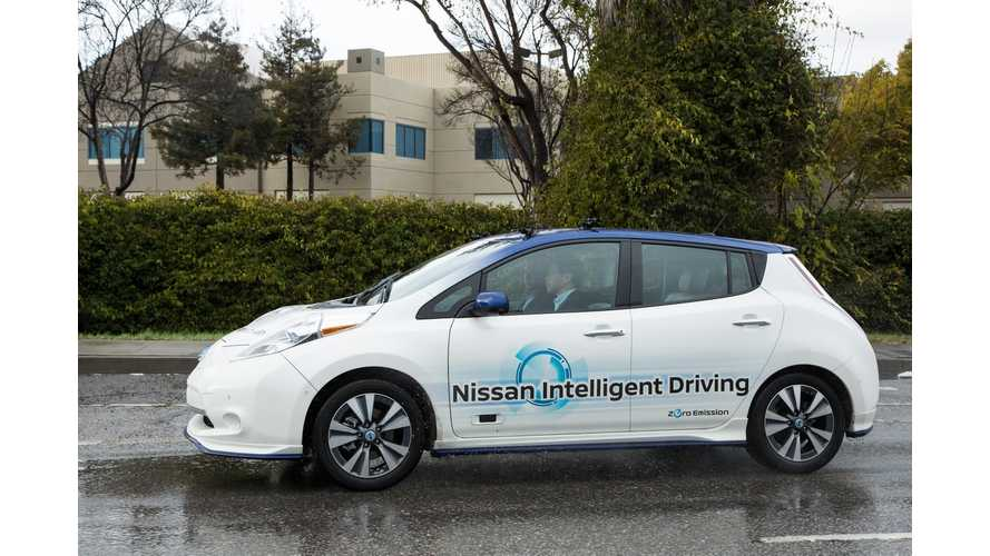 Nissan Presents The Future Of Piloted Driving In The LEAF, Coming Soon - Video