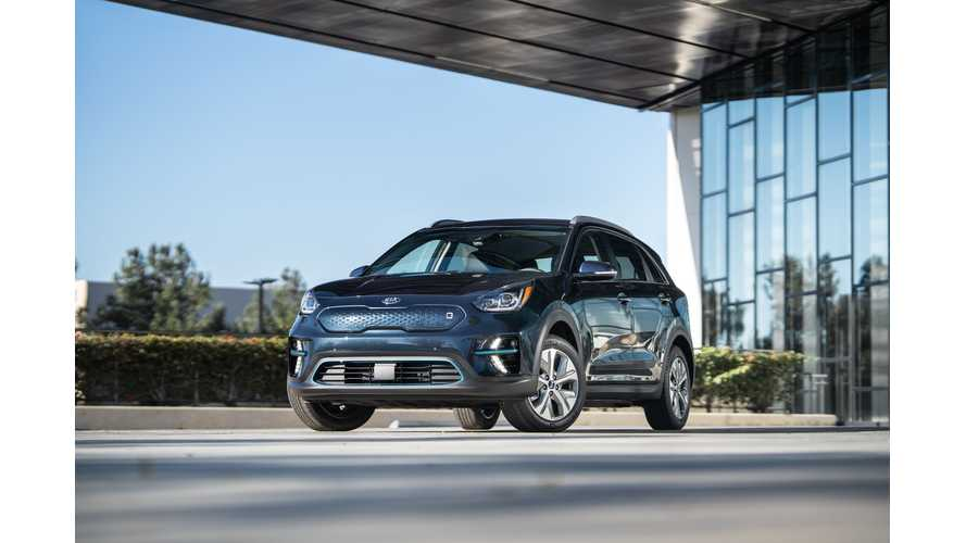 Kia Niro EV Electric Crossover Shines In New Images