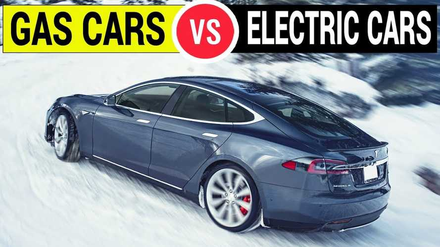 The Truth About EVs Versus Gas Cars For Winter Driving