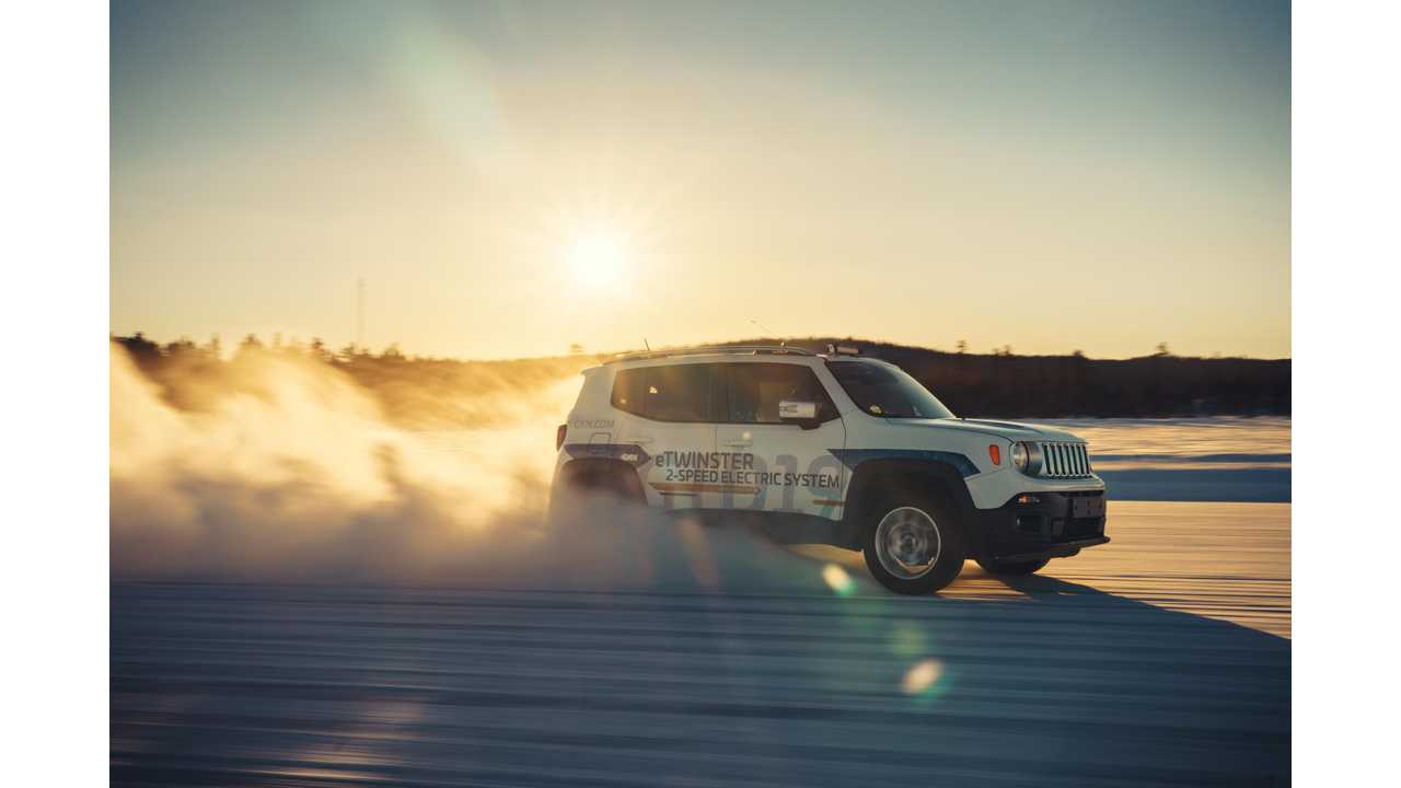 GKN Tests BEV With 2-Speed Transmission And Torque Vectoring