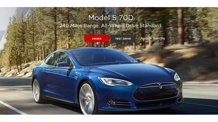 Analyst Concerned Tesla Might Be Cannibalizing 85D Sales With Introduction Of 70D