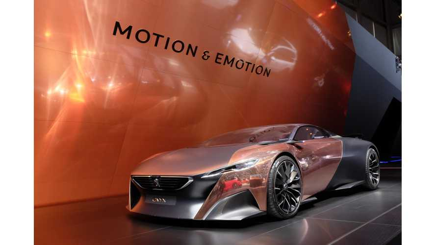 Peugeot Onyx & Quartz - Live Images + Video From 2015 Geneva Motor Show