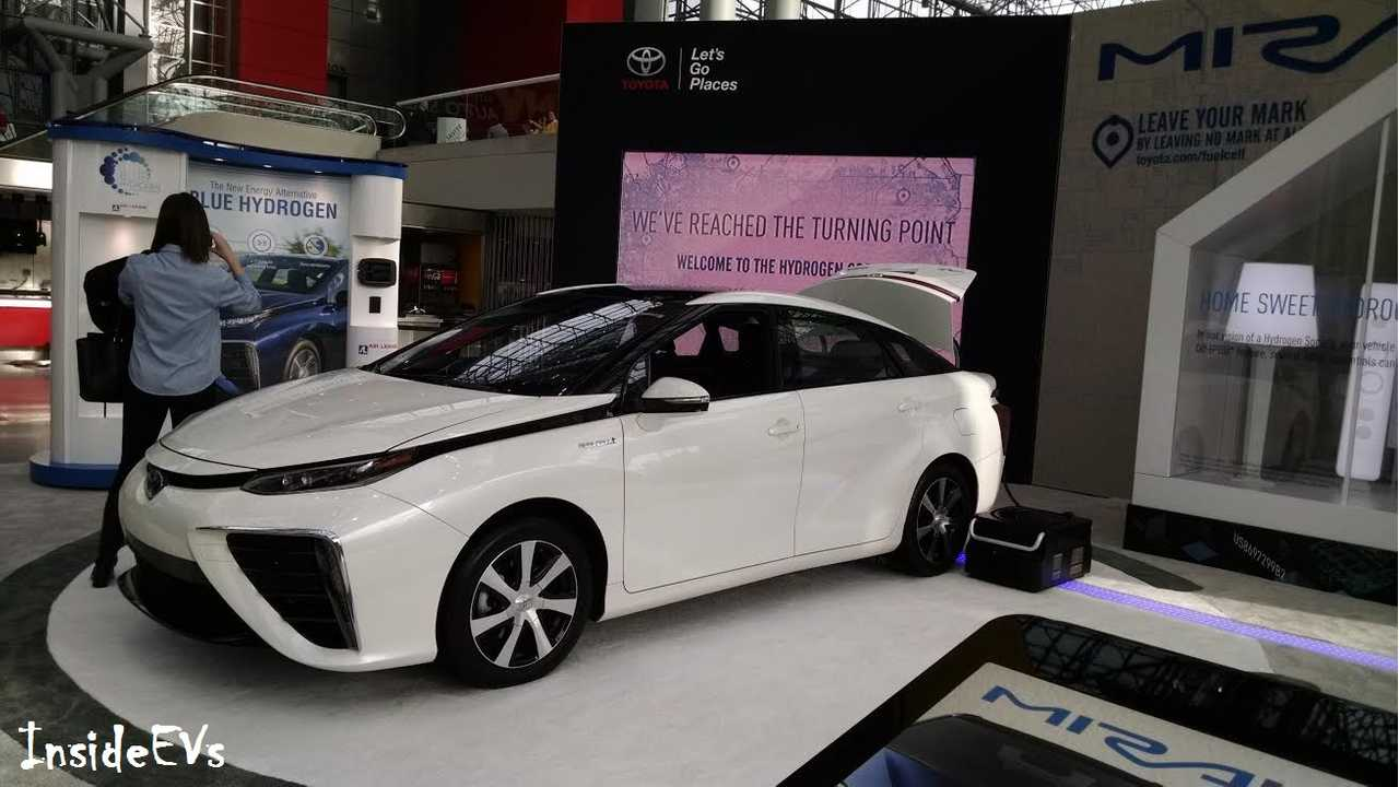 Toyota Mirai At New York Auto Show - East Coast Hydrogen Fueling Stations Coming Soon