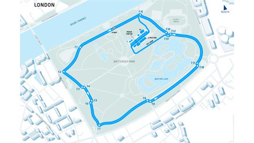 In London, Formula E Will Race In Battersea Park - Two Races Instead Of One!