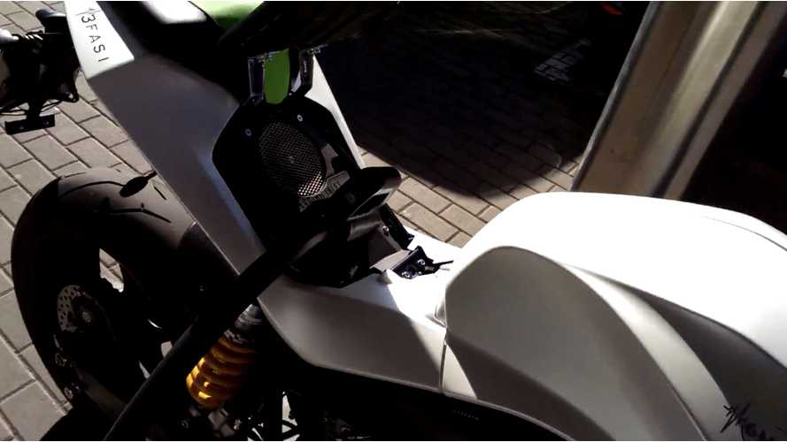 Energica Ego Fast Charge Video