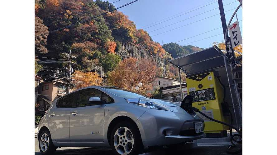 Nissan LEAF Sales in Japan Steady In August; Global Sales Higher Than Ever
