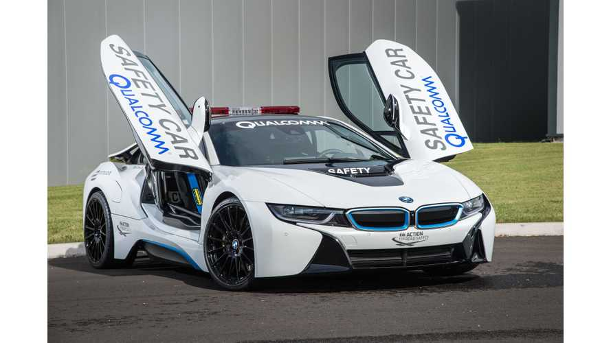 Autocar Tests BMW i8 Formula E Safety Car