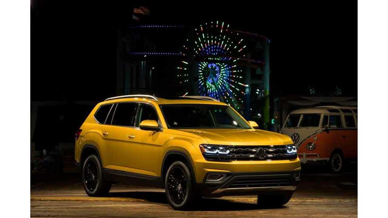 Volkswagen Atlas 7-Seat SUV Unveiled, Plug-In Hybrid Version Coming