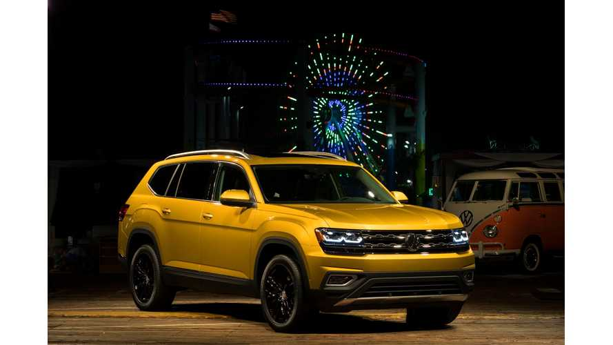 Volkswagen Atlas 7-Seat SUV Unveiled, Plug-In Hybrid Version Coming