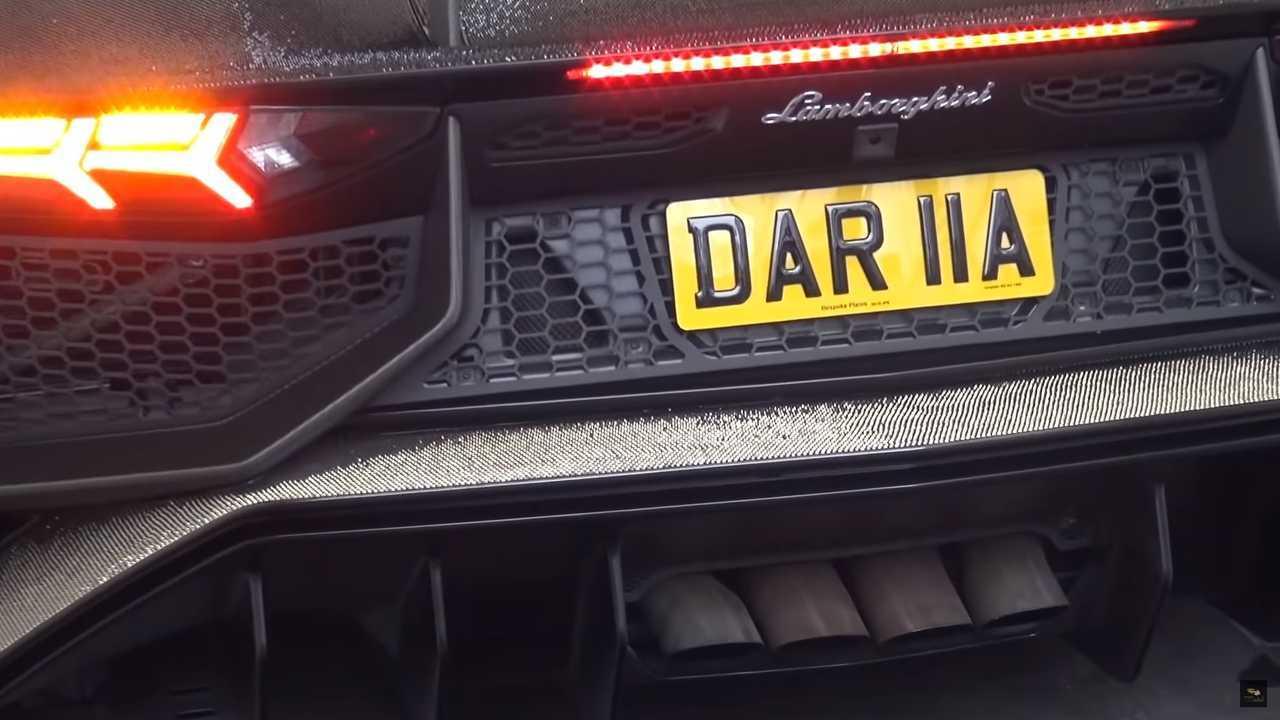 Lamborghini Aventador SV covered in two million Swarovski crystals