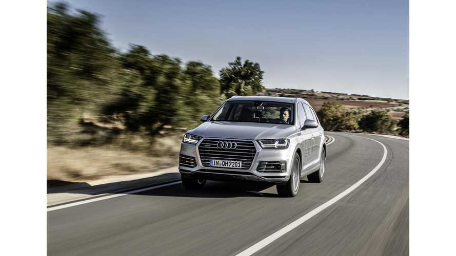 Audi Q7 e-tron Test Drive Review