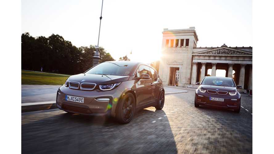 2019 BMW i3 Prices In UK Only Slightly Higher Than 2018 i3