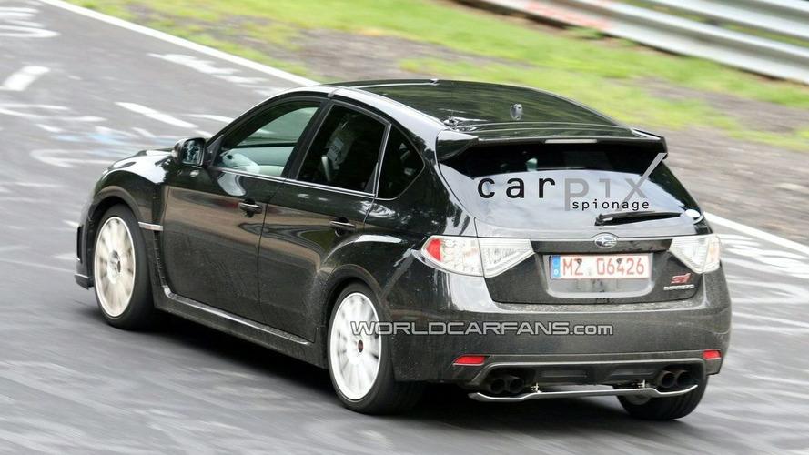 Subaru Impreza Wrx Sti Spec C Spied On The Ring
