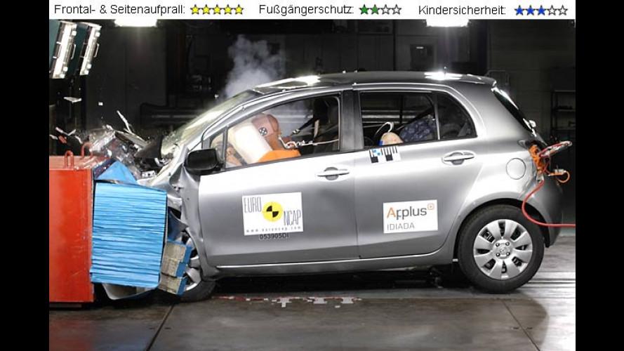 EuroNCAP-Crashtest 2005: Fiat Croma, Toyota Yaris und Daihatsu Sirion