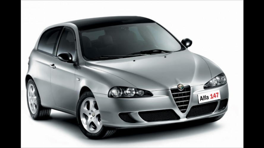 Bologna Motor Show: Sondermodelle des Alfa GT und 147