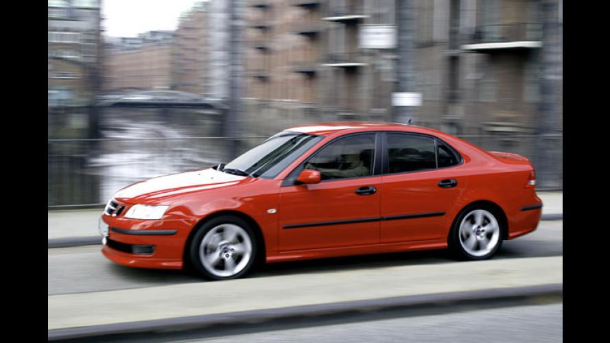 Saab 9-3 Sport-Limousine: Neue Diesel mit Partikelfilter