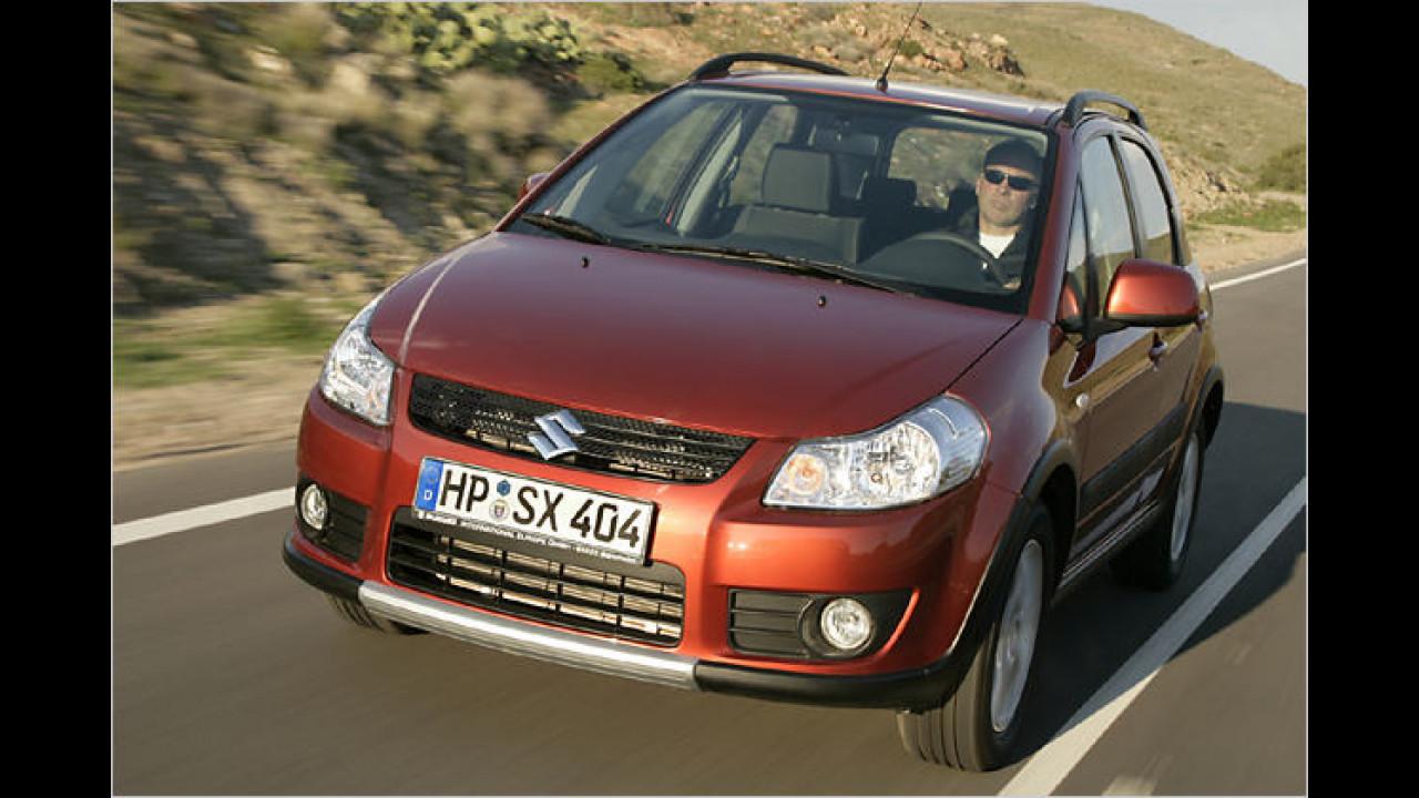 Suzuki SX4 1.9 DDiS Club i-AWD DPF