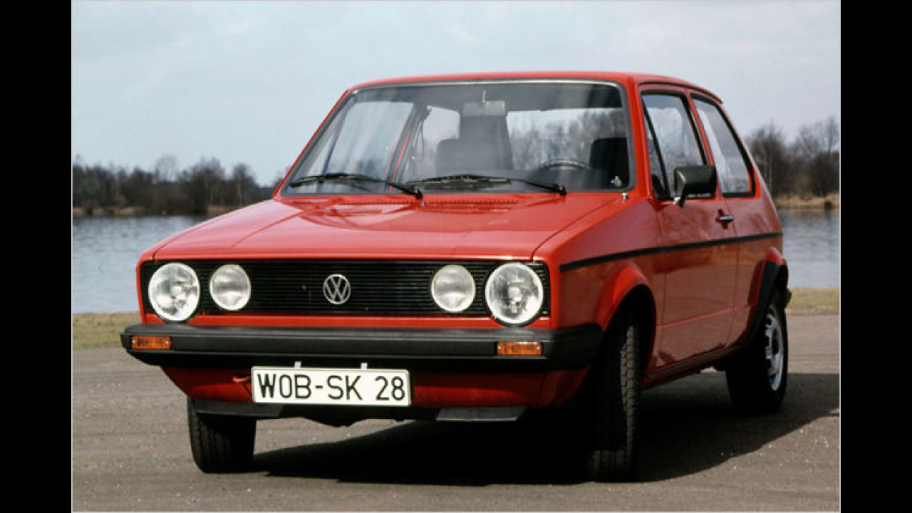 VW Golf I LX, Baujahr: 1983