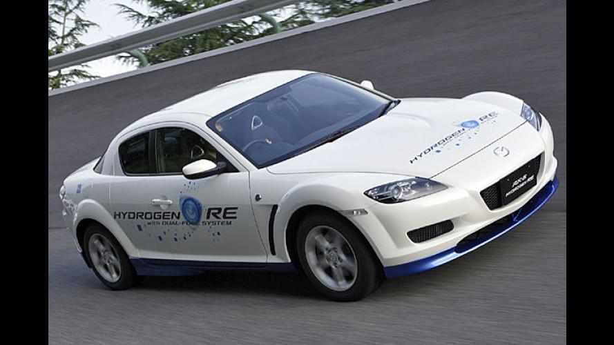 Mazda verkauft erste Wasserstoff-Autos nach Europa