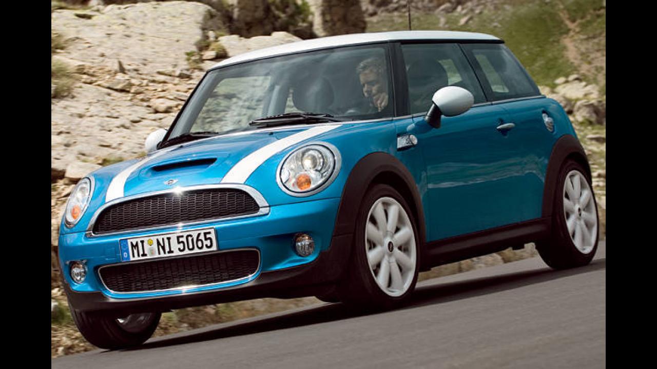 Platz 17: Mini Cooper S