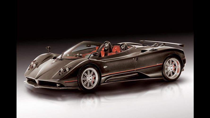 Pagani Zonda C12 F Roadster: Oben ohne mit über 345 km/h