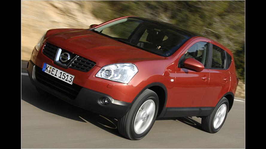 Nissan: Partikelfilter für den Diesel-Qashqai 1.5 dCi
