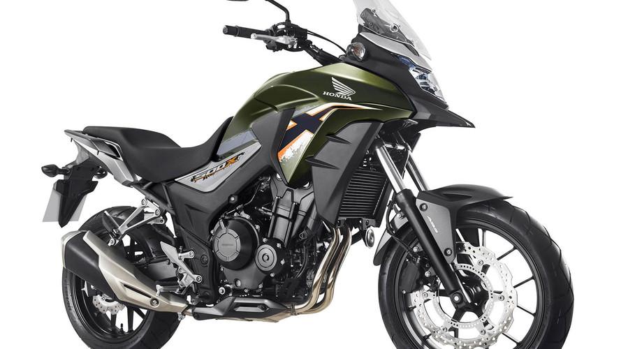 Honda linha CB500 2018
