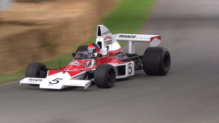 Mika Häkkinen To Take Emerson Fittipaldi's McLaren M23 For A Spin