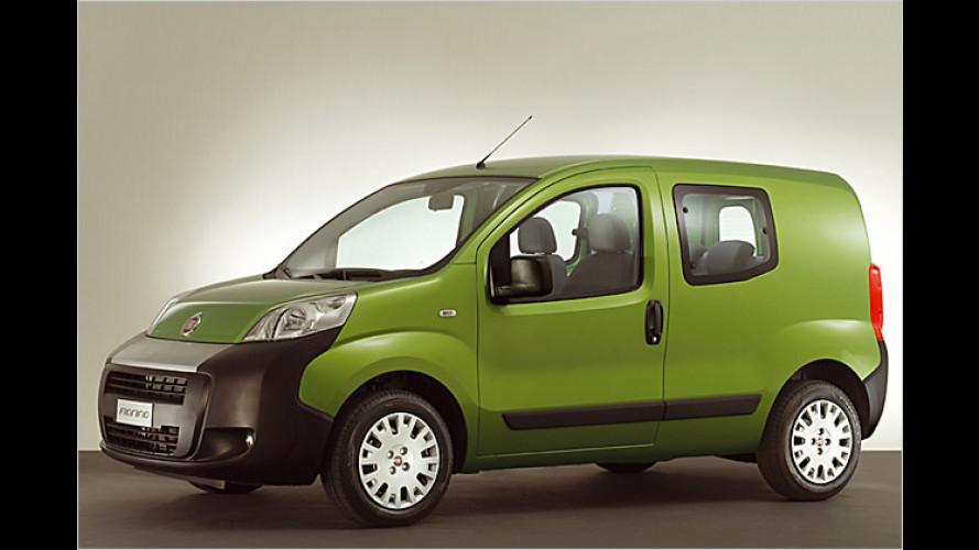 Flinker Lastesel: Neuer Fiat Fiorino kommt im Februar 2008