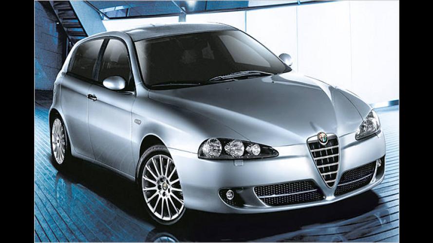 Alfa Romeo 147: Neues Gesicht und erweiterte Ausstattung