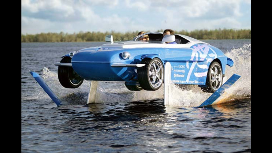 Rinspeed Splash: Verrückter Wasser-Floh fliegt in die Luft