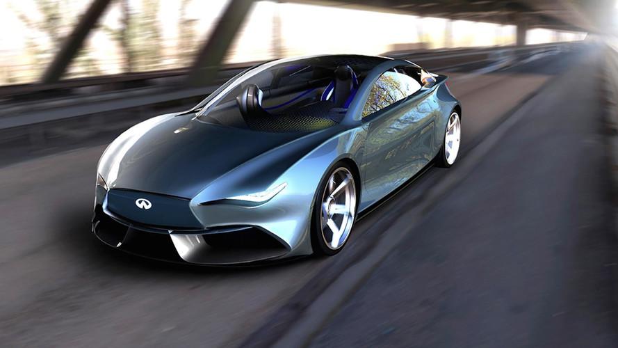 Etkileyici Infiniti Q50 EV tasarım yorumu