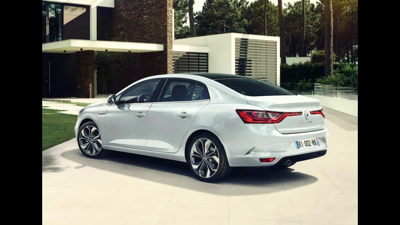 Substituto do Fluence, o belo Renault Megane Sedan é revelado - veja fotos