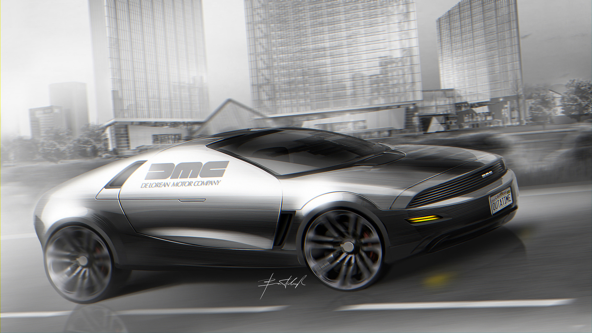 Delorean dmc 12 concept