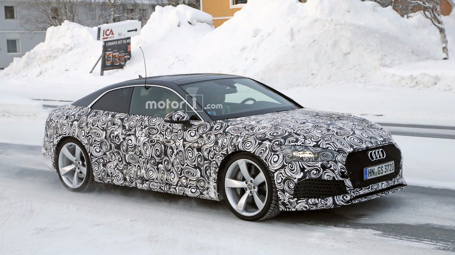2018 Audi RS 5 Coupe spied flexing its new muscles [UPDATE]