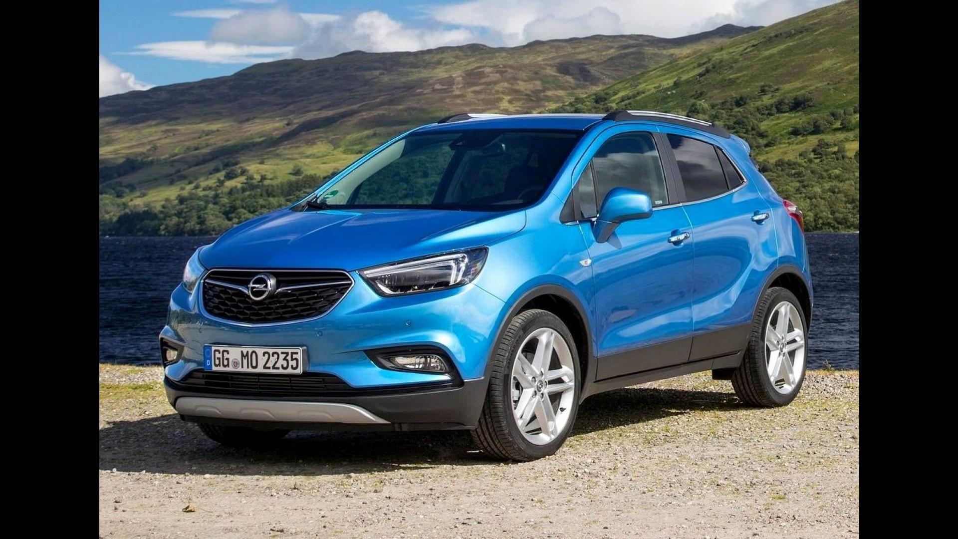 Irmao Do Tracker Opel Mokka X Reestilizado Comeca A Ser Vendido Na Europa