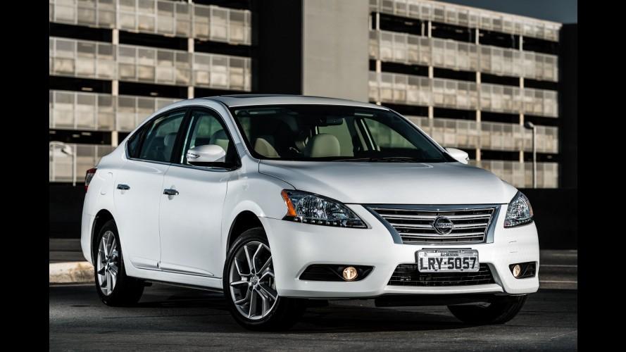 Nissan Sentra resgata série especial Unique por R$ 87.490