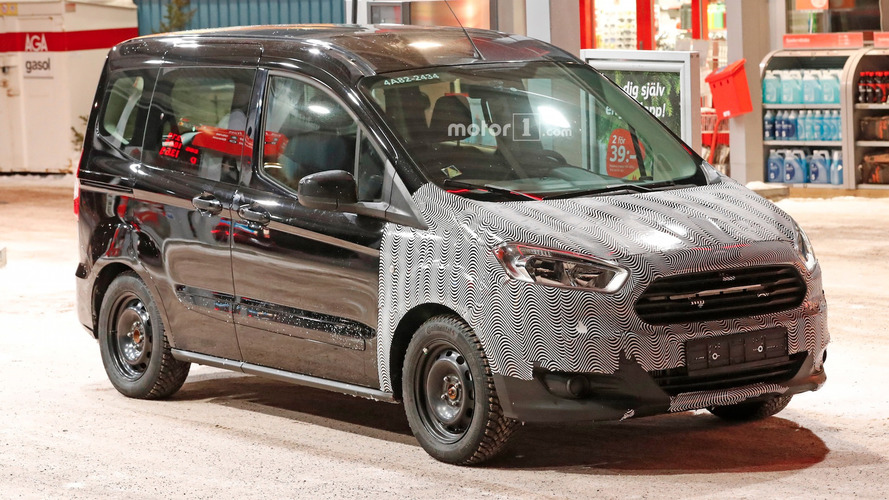 Ford Tourneo Courier teases facelift in new spy photos