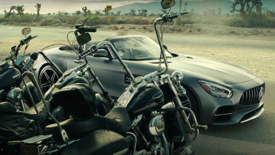 Mercedes and Coen Brothers release wild Super Bowl ad