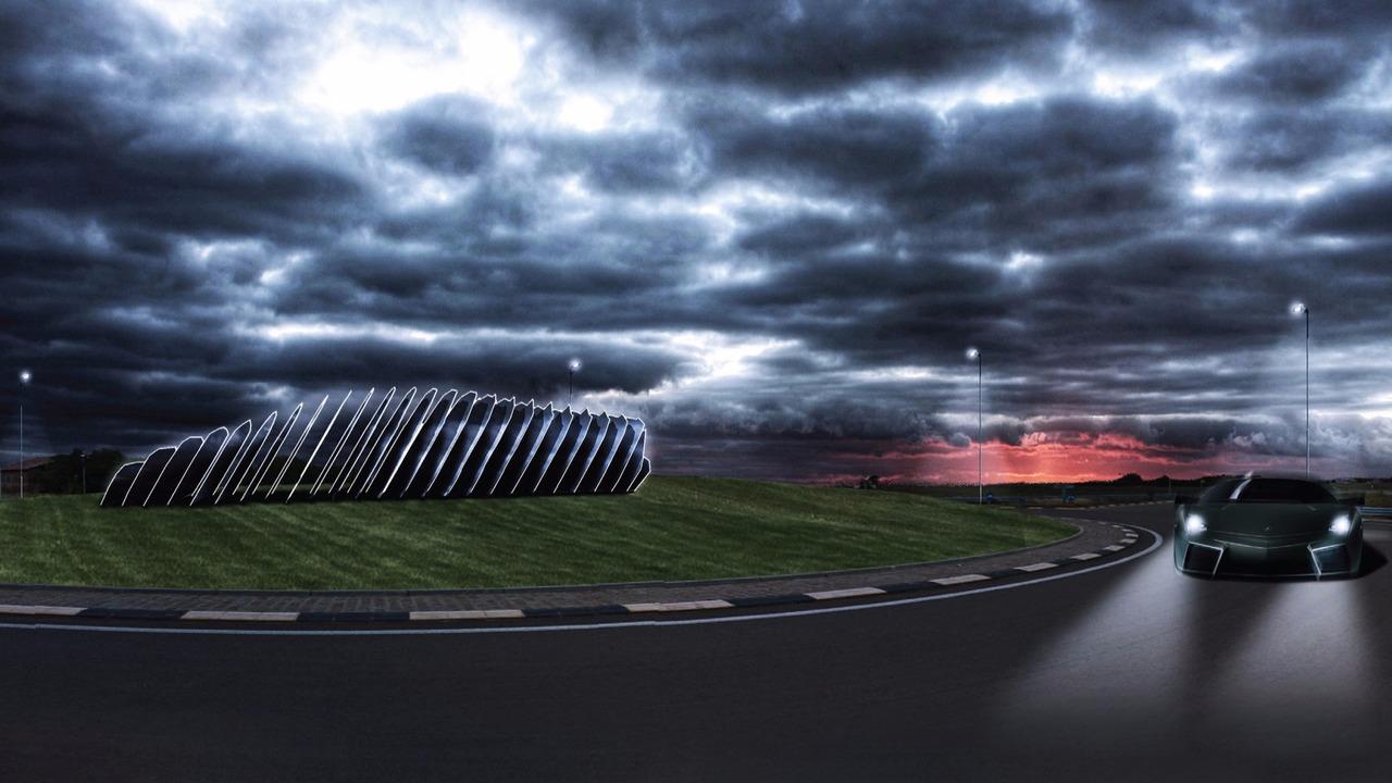 Lamborghini monument