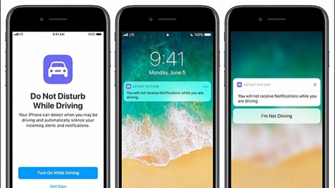 [Copertina] - Apple iOS 11, una funzione blocca le notifiche mentre si guida