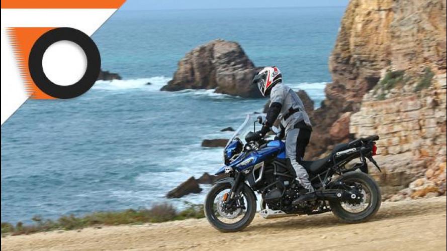 Triumph Tiger Explorer 1200 Xca è la moto della settimana