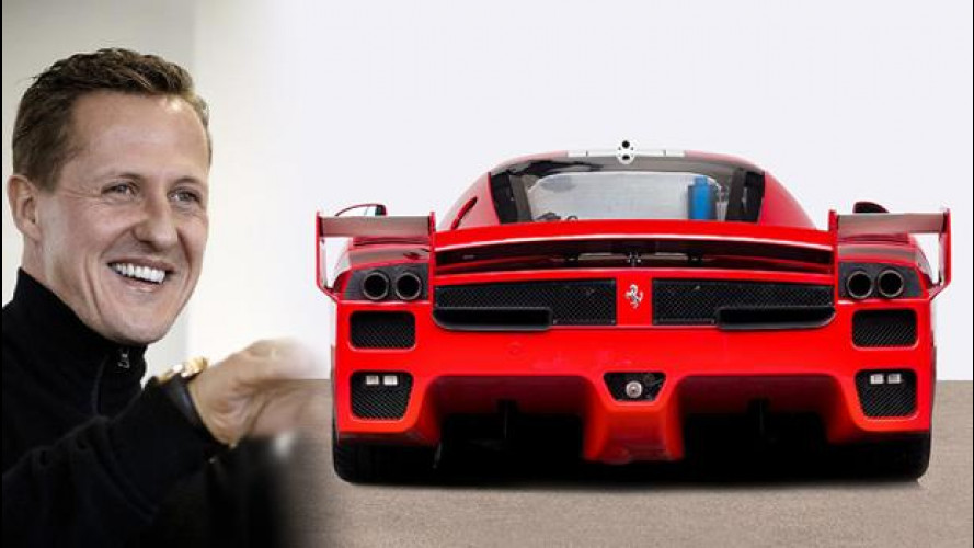 [Copertina] - Ferrari FXX, all'asta quella di Schumacher