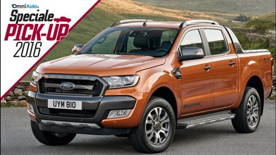 Ford Ranger, il pick-up più amato in Europa