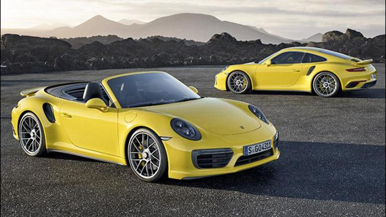 [Copertina] - Nuova Porsche 911 Turbo e Turbo S, al limite dei 580 CV